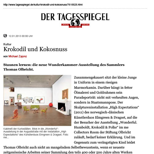Der Tagesspiegel January 2013
