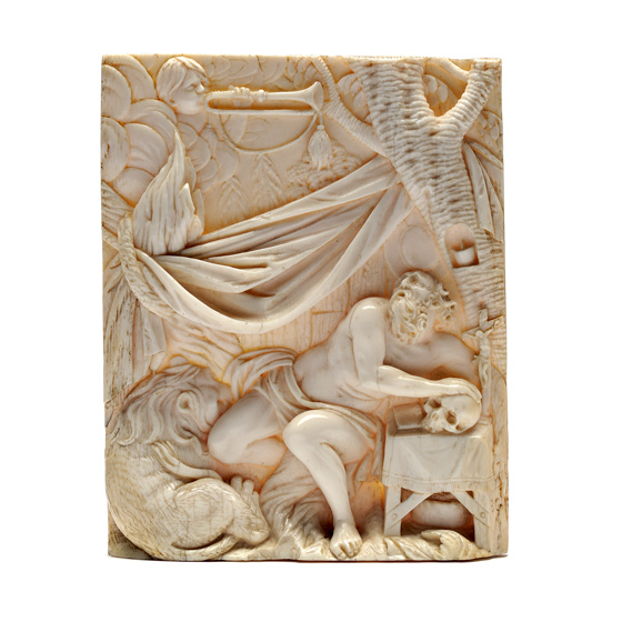Ivory relief